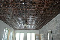 Faux Tin Antique Ceiling Tiles by www.talissadecor.com ...