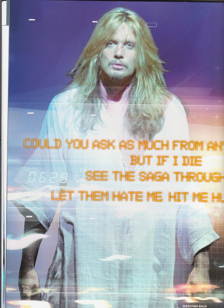 Sebastian Bach In Jesus Christ Superstar Sebastian Bach