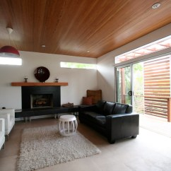 Wall Pictures Living Room Laminate Flooring Images | Vaulted Ceiling Of Recycled Wood. Clerestory ...
