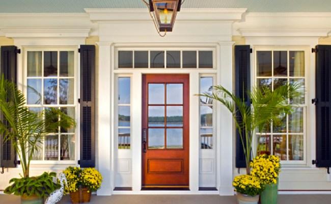 Front Entry With Jeld Wen Windows And Doors Jeld Wen