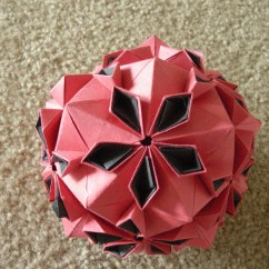 Soccer Ball Modular Origami Diagram Travel Trailer Tail Light Wiring Cherry Blossom Design By Tomoko Fuse Folded From