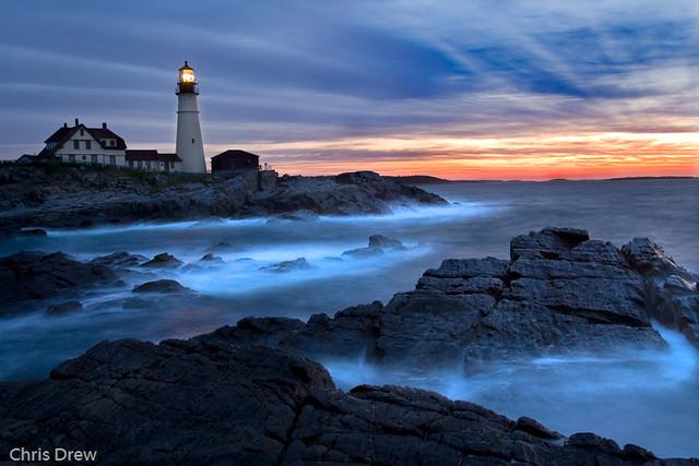 Portland Or Fall Had Wallpaper Sunrise At Portland Headlight Cape Elizabeth Maine Flickr