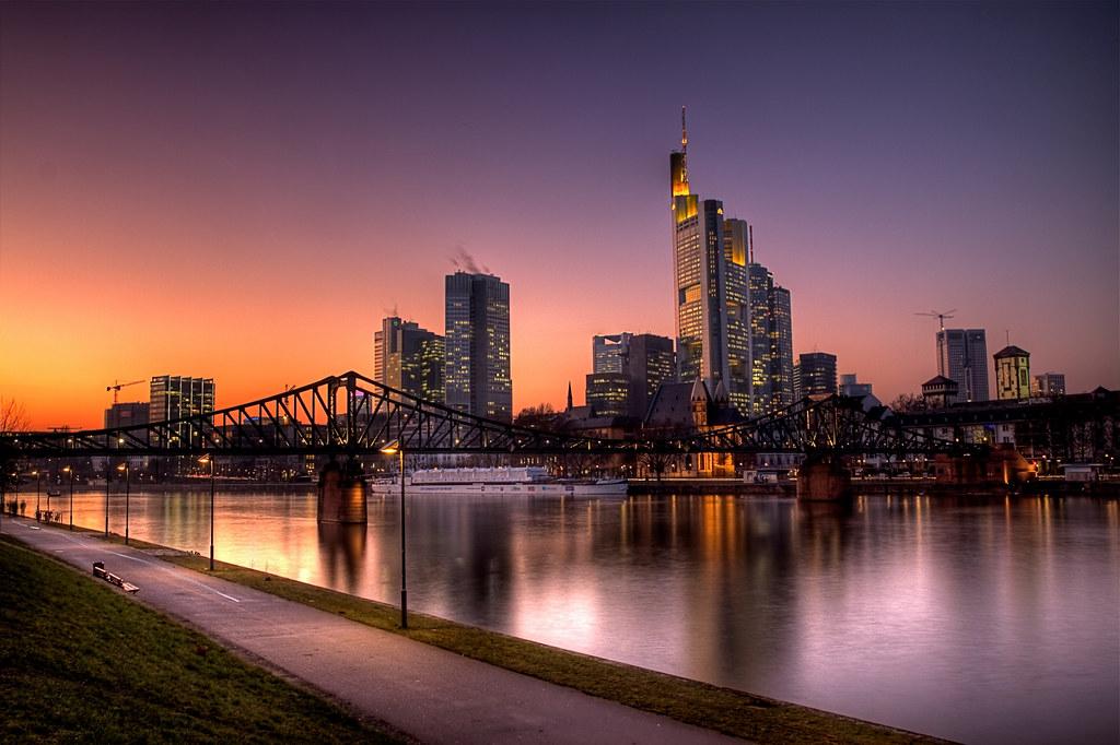 3d Wallpaper From Germany Frankfurt Skyline Hdr Skyline Frankfurt Vom Schaumeinkai