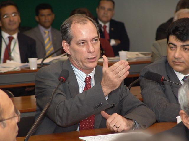 PT age como traidor nas eleições da Câmara e Senado, diz Ciro, Ciro Gomes - foto André Abrahão