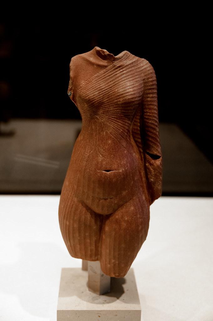 Womans body maybe Nefertiti  Egyptian Antiquities