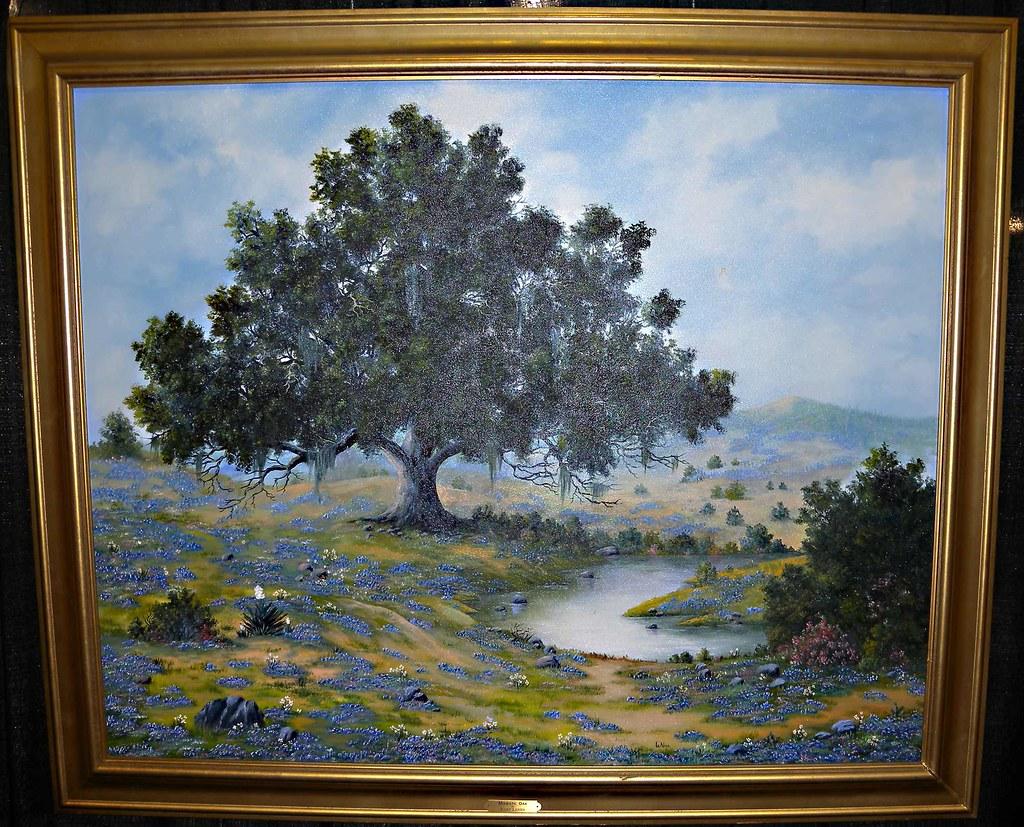 Majestic Oak by Fairy Lanier  Original painting is 5