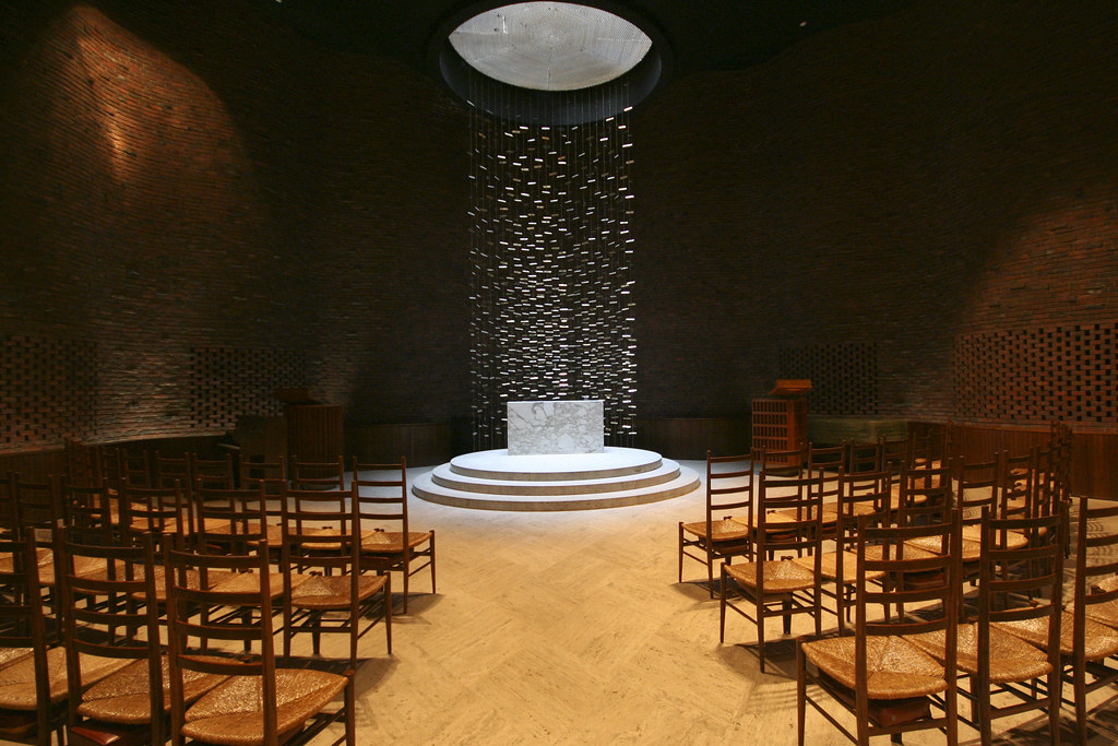 MIT Chapel  Eero Saarinen  This nondenominational