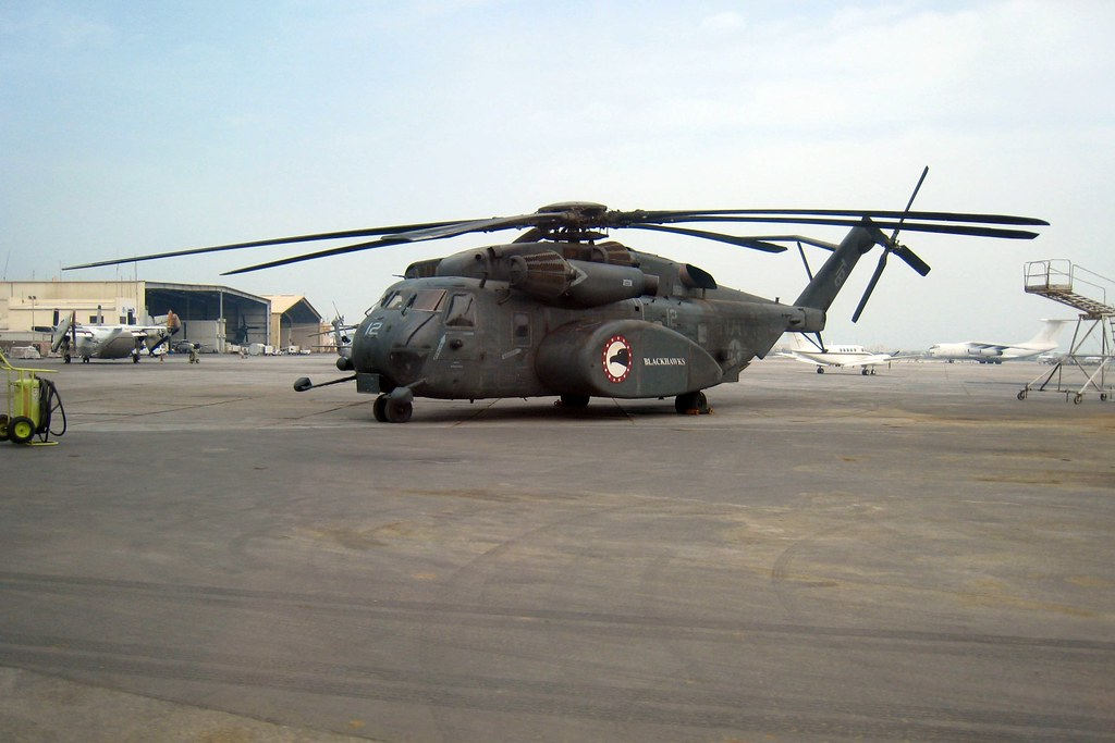 US Navy Hercules Helicopter Manama Bahrain  Ethan Mattern
