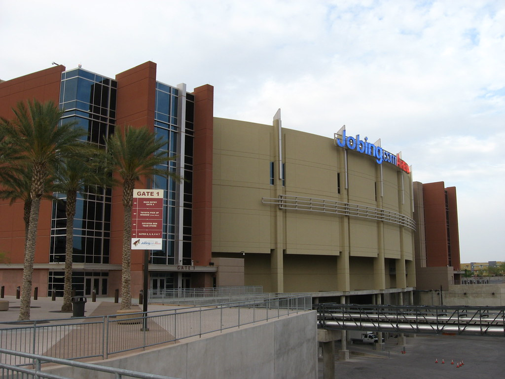 Jobing Com Arena Home Of The Phoenix Coyotes In New West