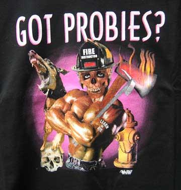 Got Probies Fire Dept TShirt  Probie Fire Instructor TShi  Flickr
