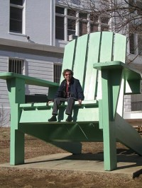 Everybody loves a big chair | 35th and R Streets NW (photo ...
