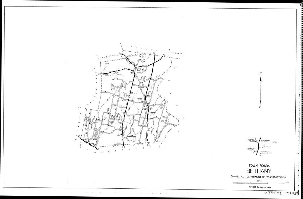 Town roads Bethany/ Connecticut Department of Transportati