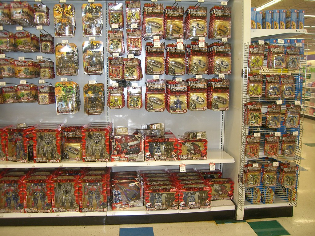 Toys R Us Display Transformers ROTF 2009  Mike Overall  Flickr