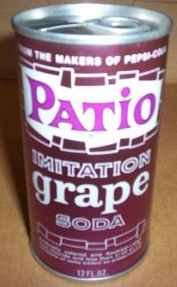 Patio Grape Soda Can | collectologist | Flickr