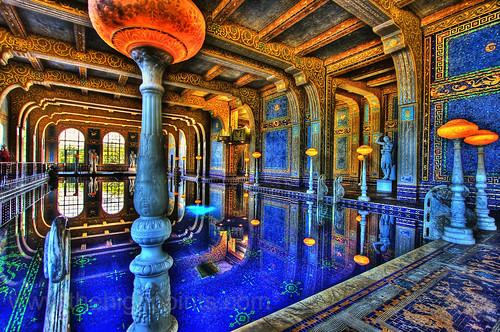 Hearst Castles Roman Pool  Flickr  Photo Sharing