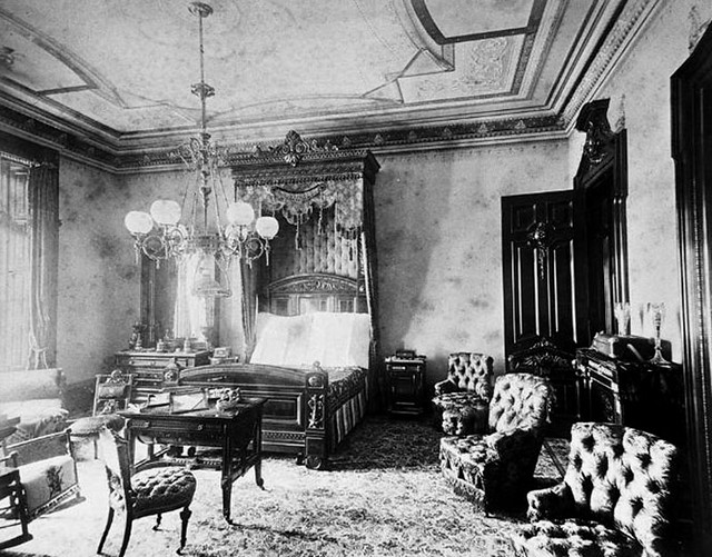 Pottier Amp Stymus Bedroom Interior 1880s Gaswizard Flickr