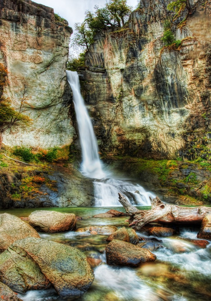 A Cool Waterfall To Relax At During The Hike And A New Ne
