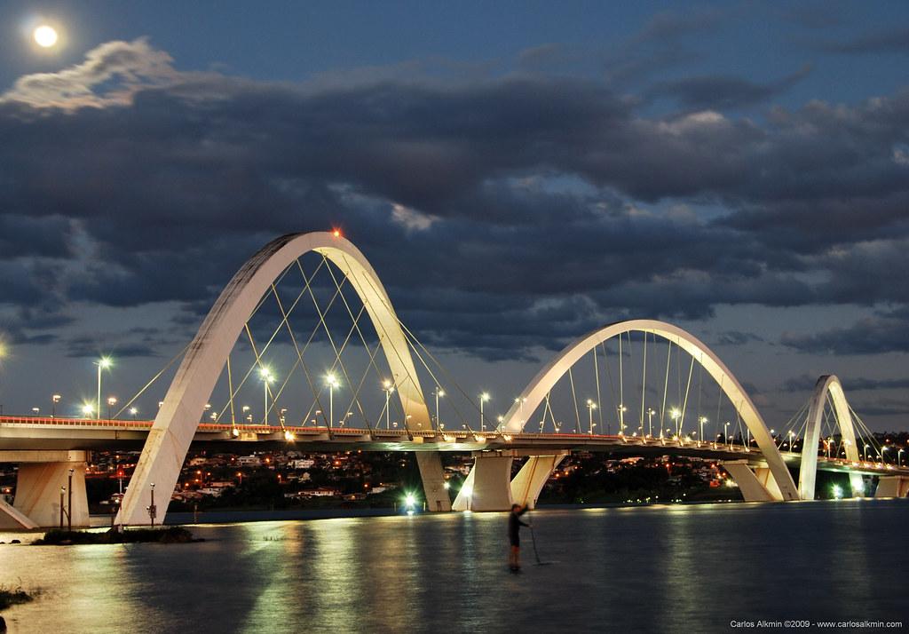 Ponte JK  Braslia  JK Bridge  The Ponte JK Juscelino Ku  Flickr