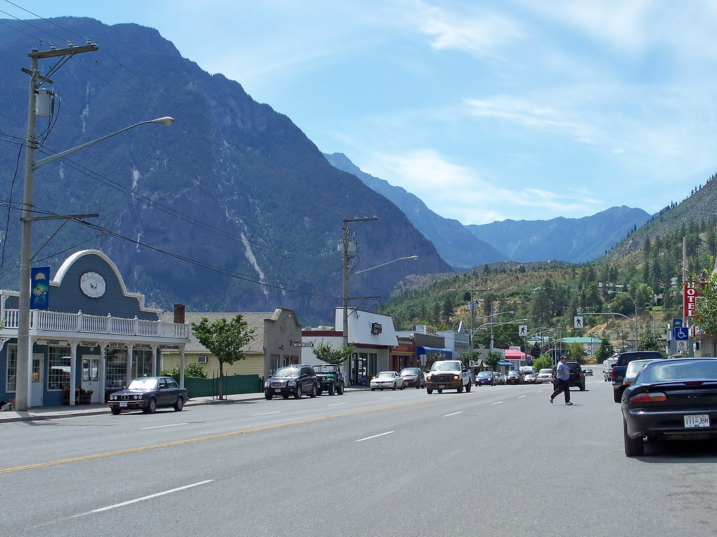 lillooet07g12 Lillooet BC Town 2007  Centre of downtown