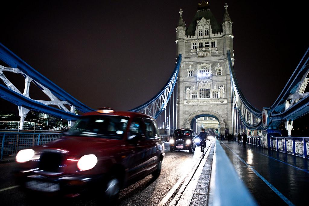 London Tower Bridge taxis  Lars Plougmann  Flickr