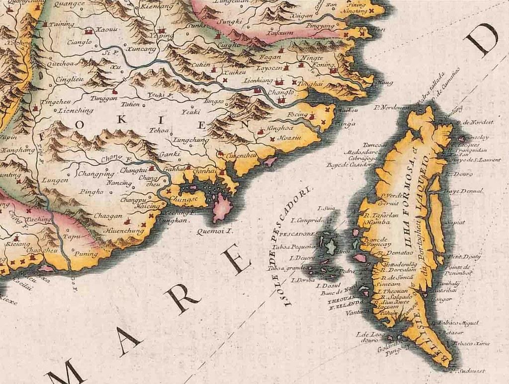 1696年臺灣古地圖-1 | 1559. 1696 年臺灣古地圖之臺南古地圖 | hycheng2 | Flickr