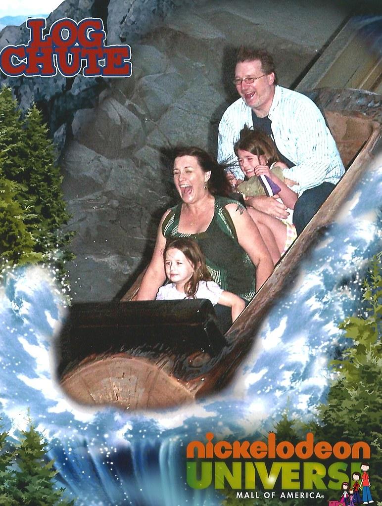 Log Ride Nickelodeon Universe Mall of America  familyrambli  Flickr