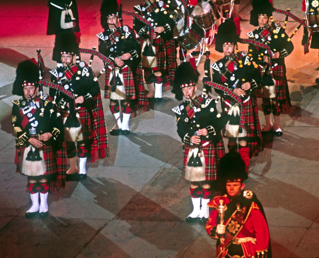 The Black Watch Pipers and Drummers  The massed bands inclu  Flickr