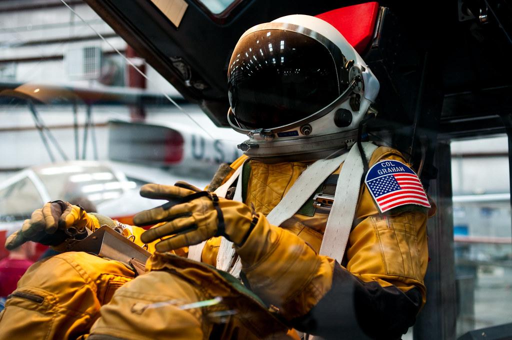 David Clark SR 71 Flight Suit David Clark S1030 High
