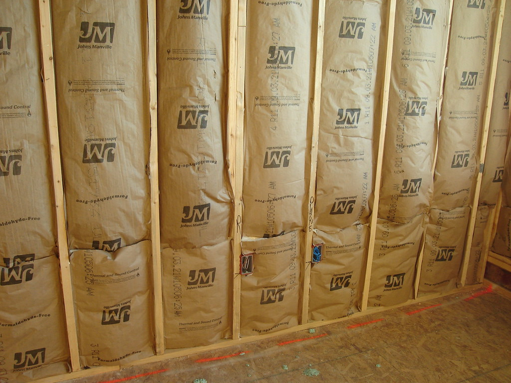 Stud wall  insulation between units  Mangum 506  You