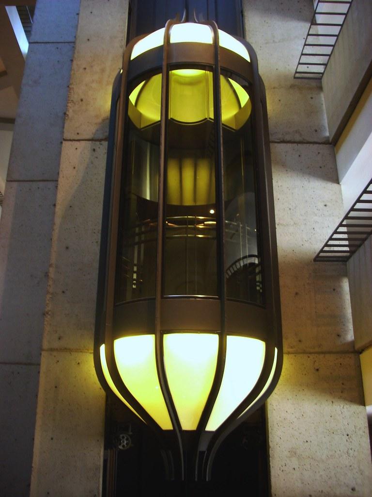 Hyatt Regency San Francisco Glass Elevator The Hyatt