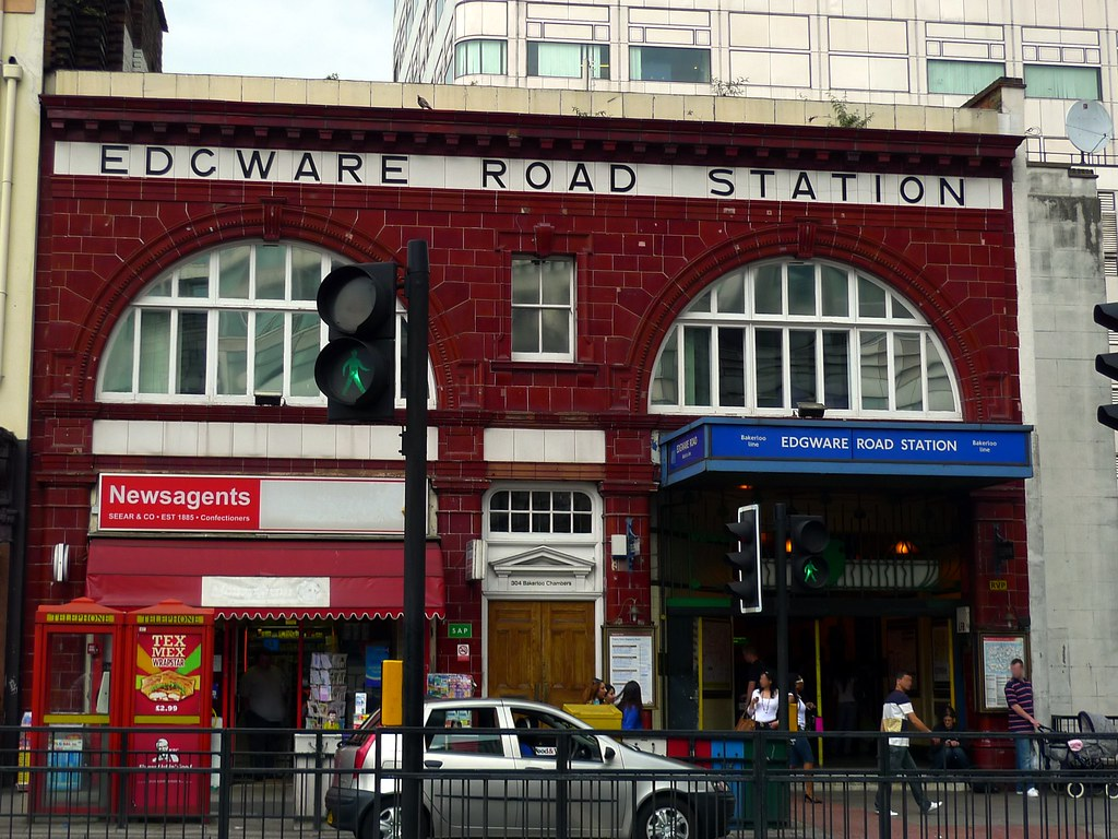 Edgware Road station  There are two stations of this name