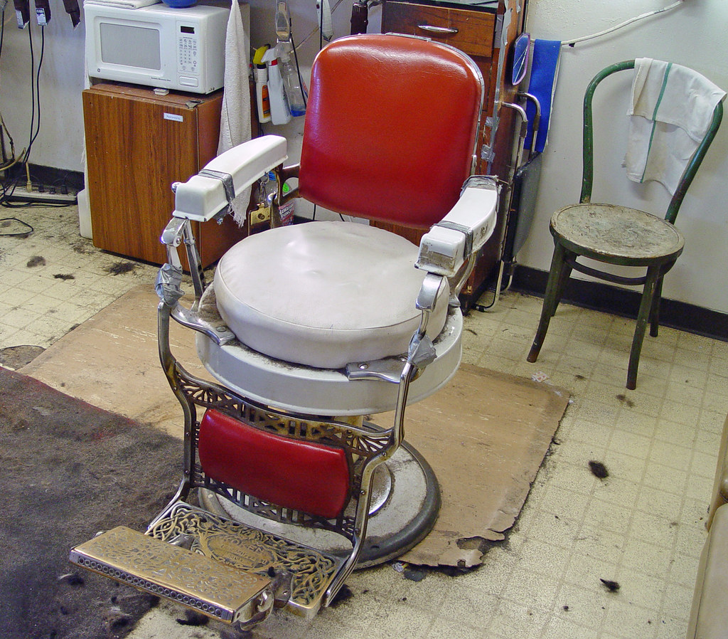 mobile barber chair walmart high chairs springfield il fred the 9 of 13 one