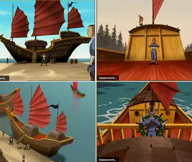 Pirate Ship From Avatar The Waterbending Scroll Screenshots For Comparison By E Cf 84i