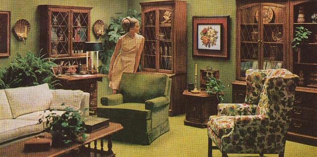 Ethan Allen Ad  Better Homes and Gardens September 1969