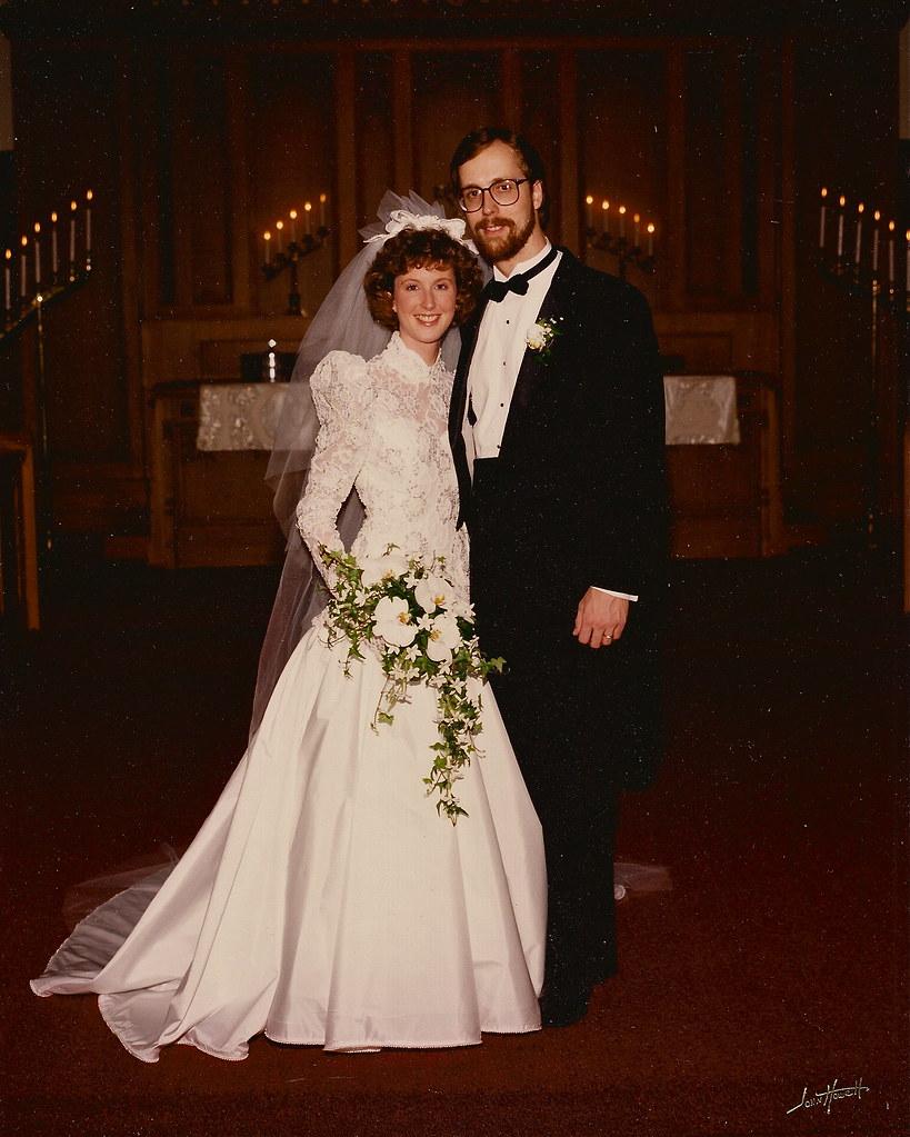 Betsy and Warren at wedding 1989  wplynn  Flickr