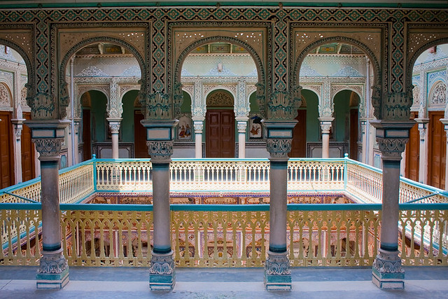 Anandilal Poddar Haveli Nawalgarh Built In The Year 1902