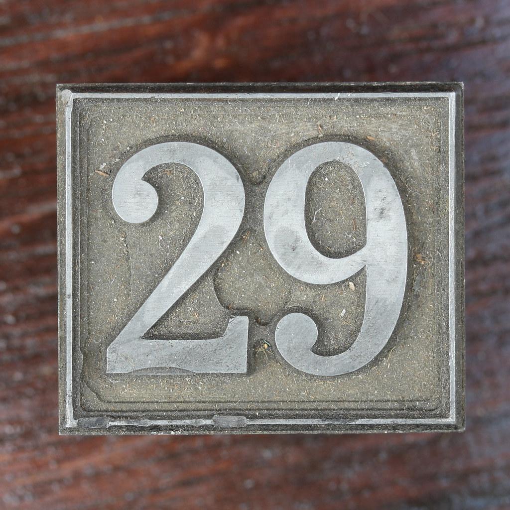 Calendar Number 29  Leo Reynolds  Flickr