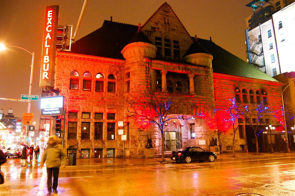Excalibur  Excalibur nightclub former Chicago Historical
