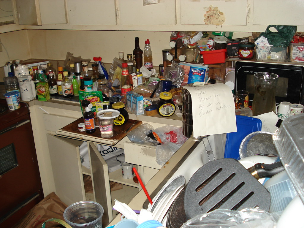 Hoarders House  kitchen  Another job Marina Del Rey