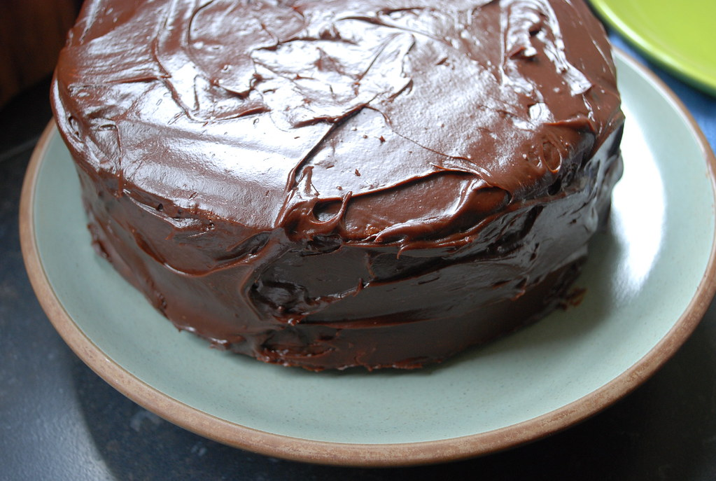 Edna Lewis Very Good Chocolate Cake  Whenever I have