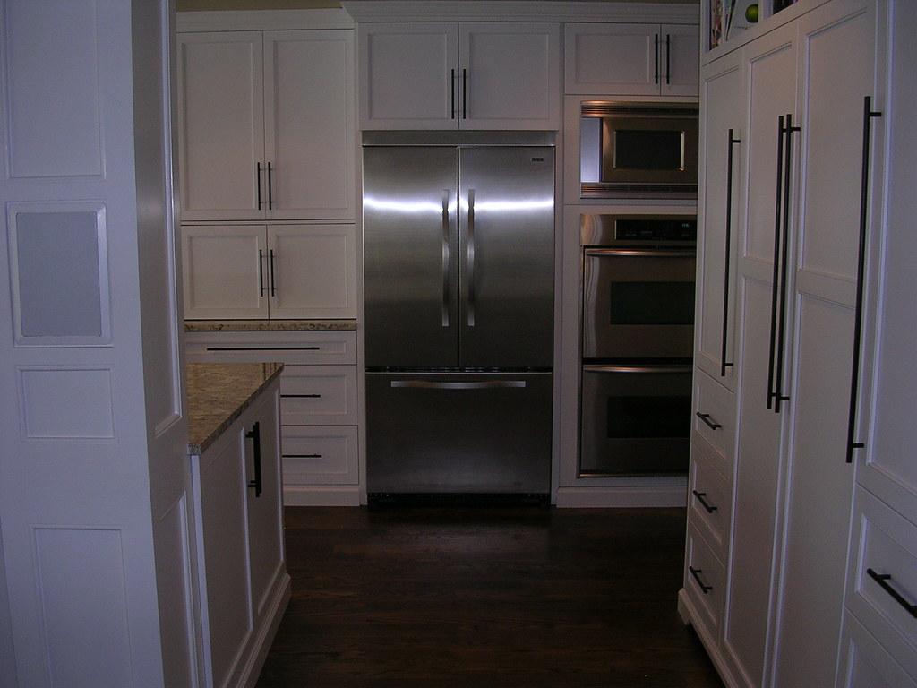 Viking Refrigerator KitchenAid Double Wall Ovens  Microw