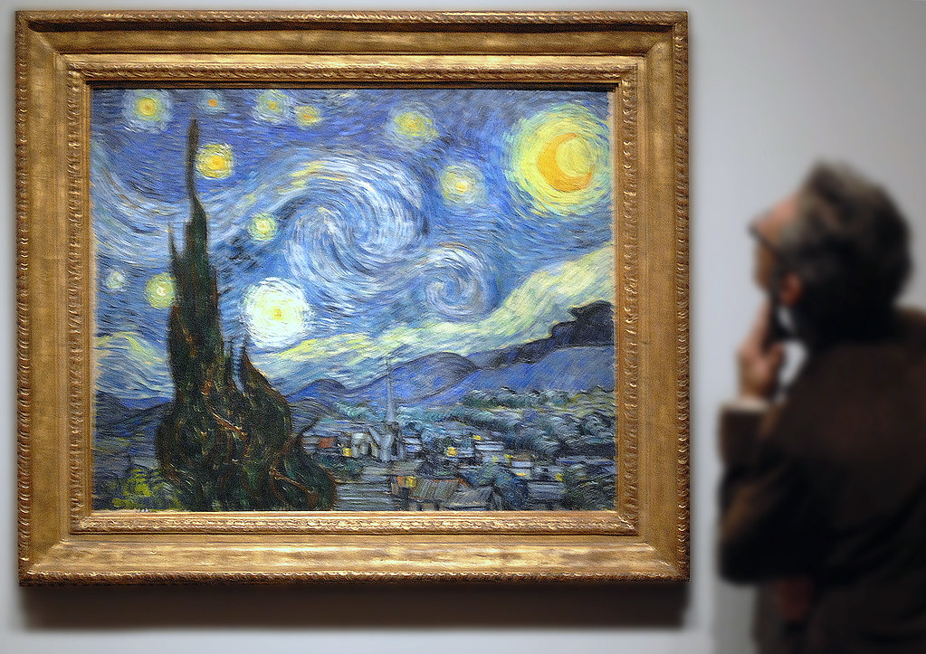 Starry Night a MoMA wonder  Van Gogh painted Starry Night   Flickr