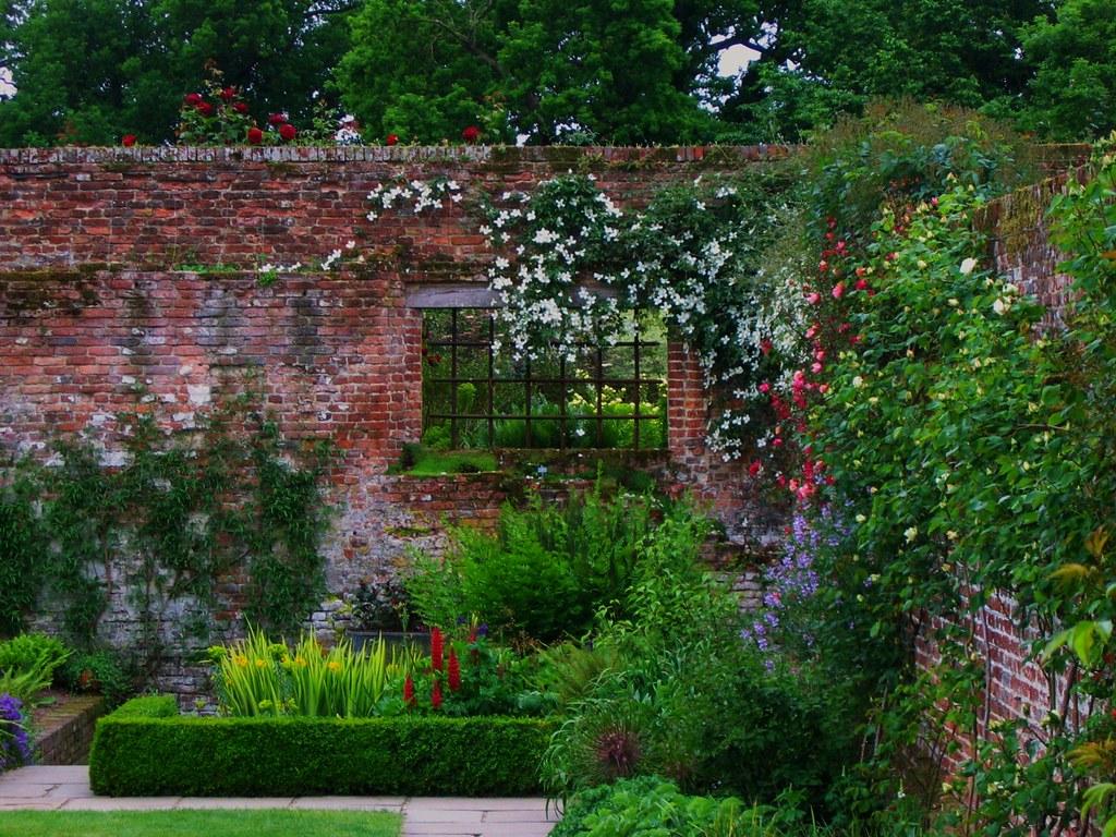 Sissinghurst Castle Garden in Kent England  Another shot