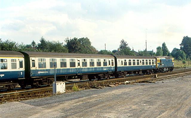 Warminster  British Rail Train  I rode this British Rail