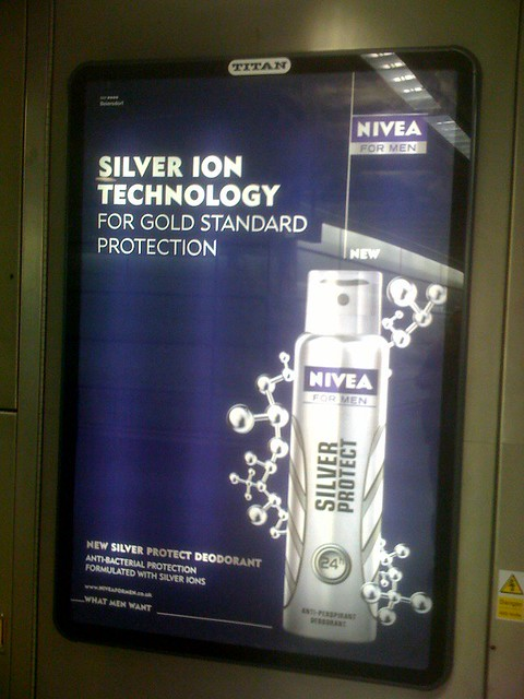 Silver Ion Nivea  Silver Ion Technology Can someone