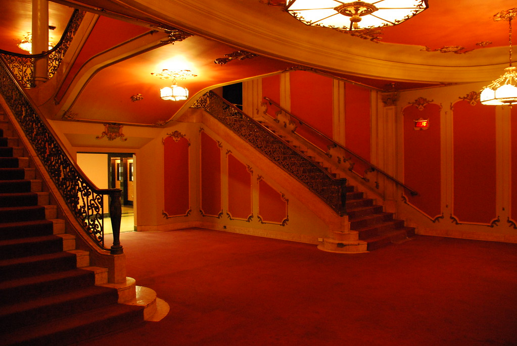Los Angeles Theatre Main Lounge Stairs  Los Angeles