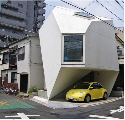Casa origami  Esta es una casa pequea montada en el cruce  Flickr