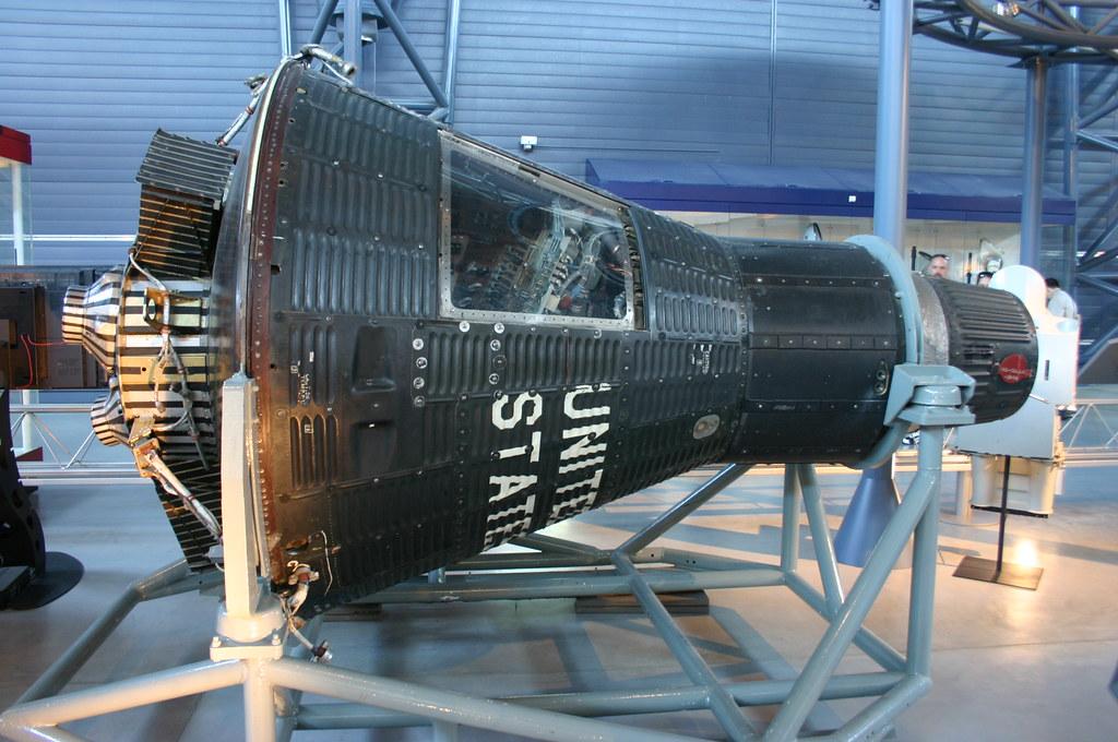 Mercury Capsule 15B Freedom 7 II  Taken at the National Air  Flickr