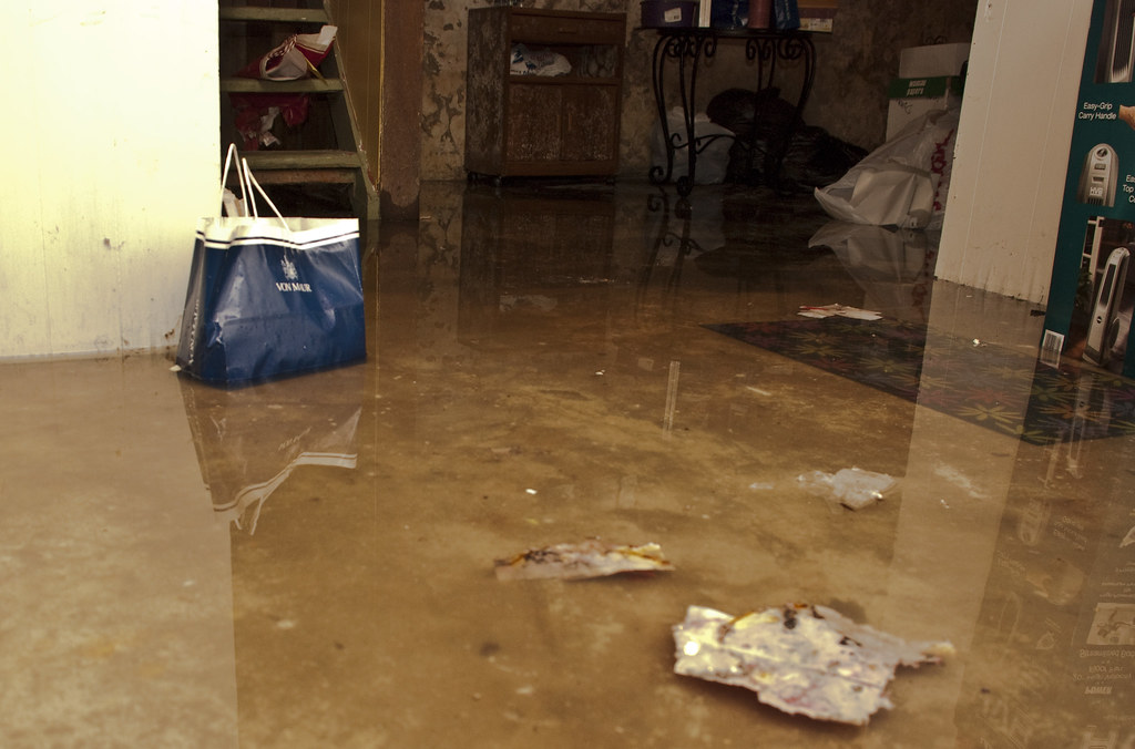 Basement Flooding  Eastern Iowa has had a crazy amount of