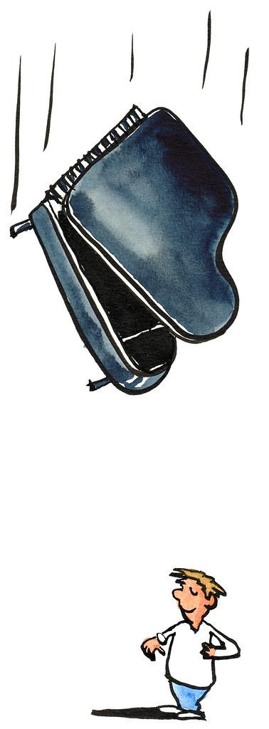 Falling Piano Illustration Frits Ahlefeldt Founder Flickr